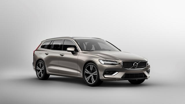 Volvo lanceert nieuwe V60