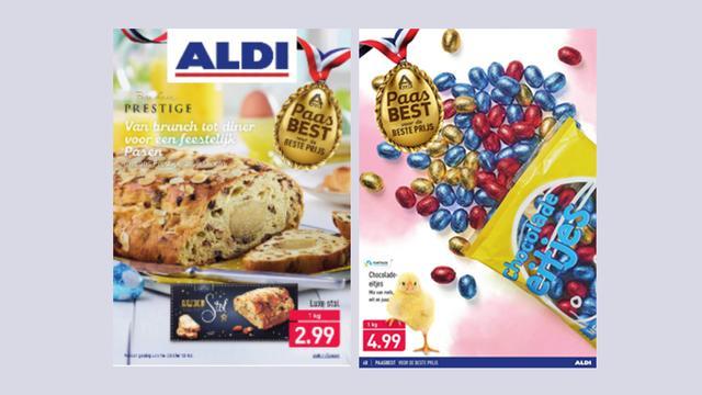 Bekijk hier de paasfolder van ALDI
