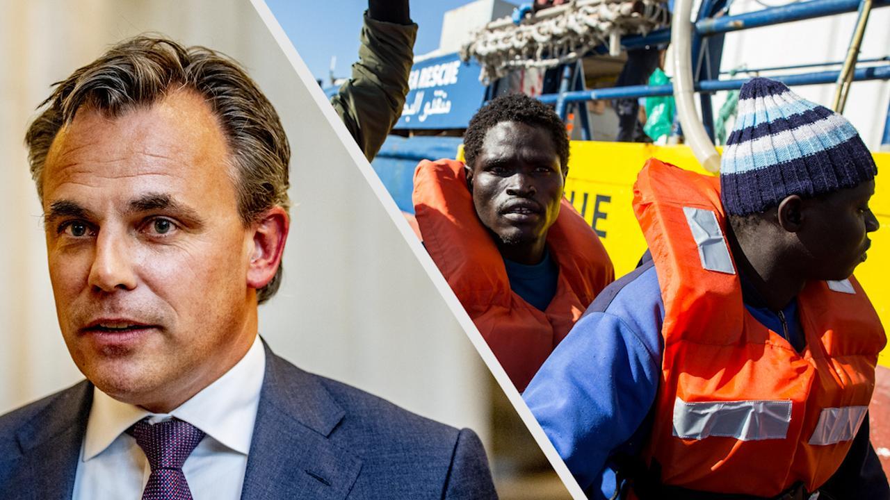 Discussie voorbij: migrantenschip hoeft niet naar Nederland