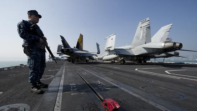 Amerikaanse marineschepen binnen enkele dagen bij Noord-Korea