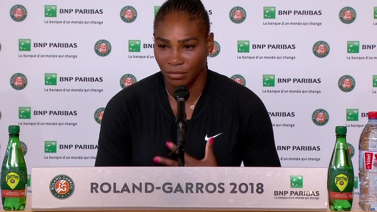 Serena Williams: 'Helaas heb ik te veel last van mijn borstspier'