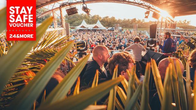 Koop nu een Stay Safe voucher voor Veerplas Festival voor 25,95 euro