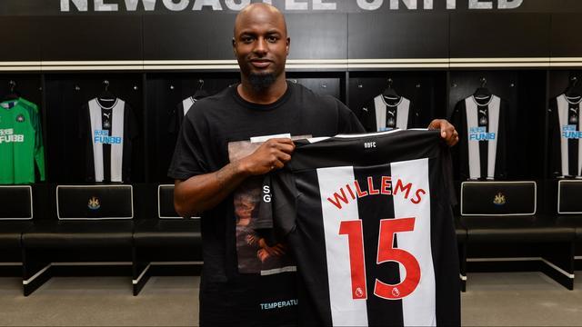 Willems verruilt Eintracht Frankfurt op huurbasis voor Newcastle United