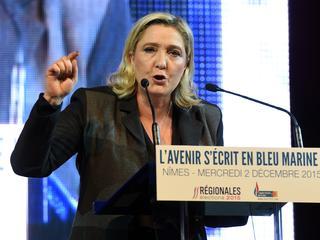 Partij Marine le Pen wint eerste verkiezingsronde