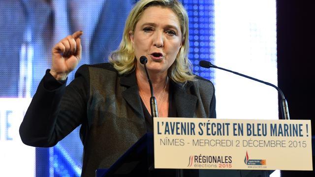 Franse justitie vraagt EU parlementaire onschendbaarheid Le Pen op te heffen