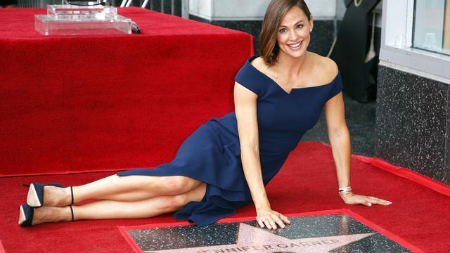 Jennifer Garner onthult eigen ster op Hollywood Walk of Fame