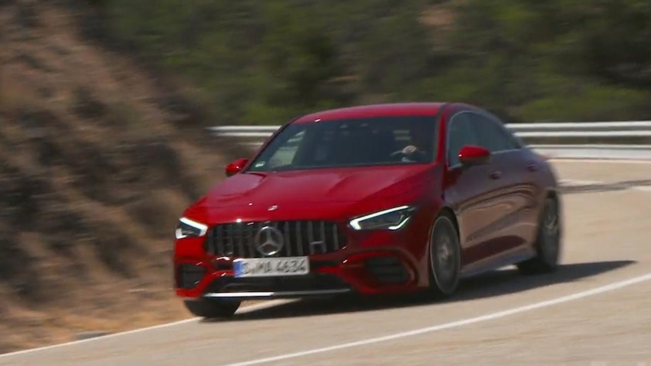 Eerste rijtest: Mercedes-AMG CLA 45 S biedt supercarprestaties