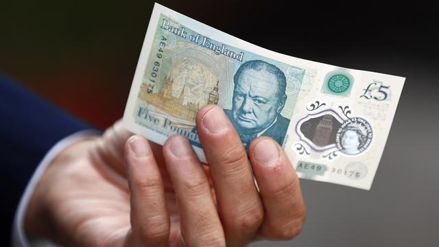Britse centrale bank blijft dierlijke vetten gebruiken in biljetten