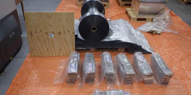 Ruim 1.200 kilo cocaïne aangetroffen in de Rotterdamse haven