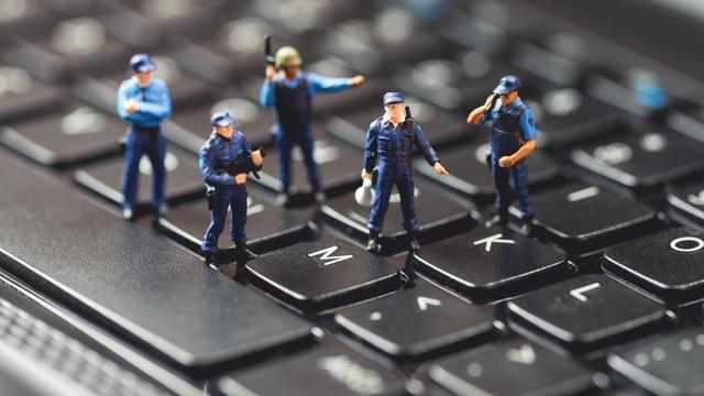 5 procent van hackmisdrijven in 2017 door politie opgelost