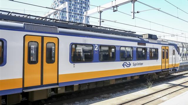Grote treinstoring bij Leiden
