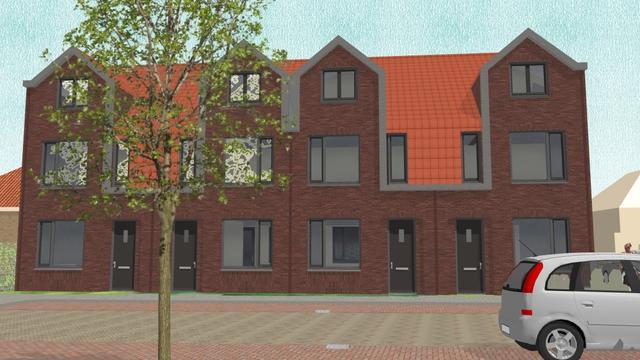Leegstaande woningen in het Rode Dorp tijdelijk te huur