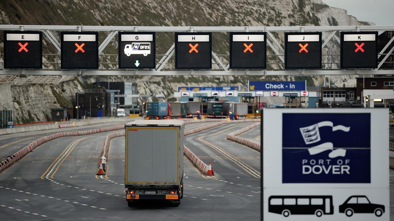 Versoepeling coronaregels voor vrachtverkeer tussen Frankrijk en VK - NU.nl