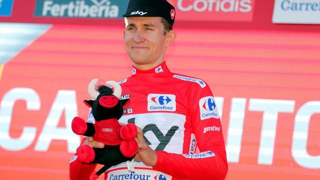 Kwiatkowski niet blij met manier waarop hij leiderstrui Vuelta veroverde