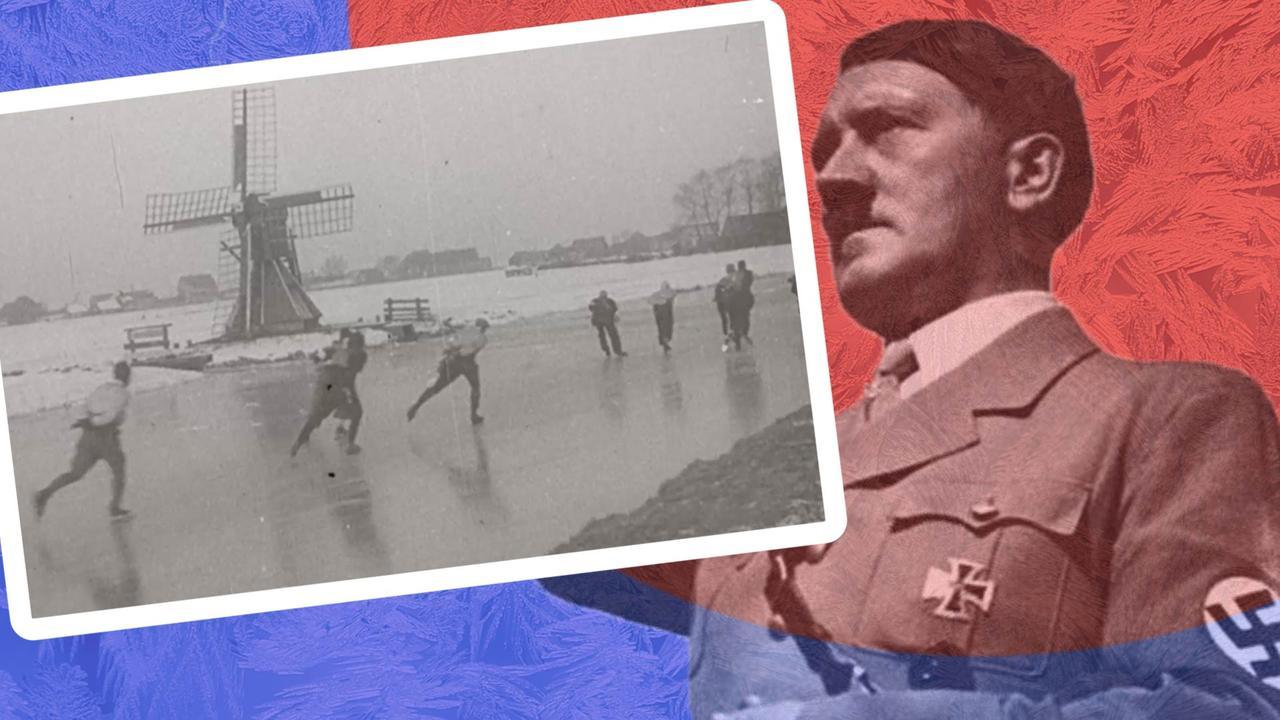 Waarom lieten de nazi's twee Elfstedentochten doorgaan?