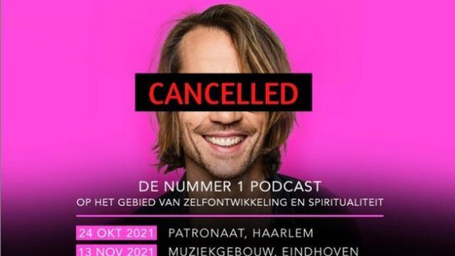 Giel Beelen laat op Instagram weten zijn theatertour te cancellen. (Foto: Instagram/Giel Beelen)