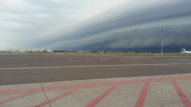 Overlast in Twente door wolkbreuk