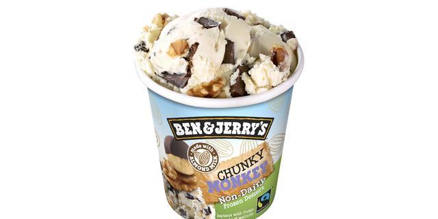 Ben & Jerry's introduceert veganistische varianten in Amerika