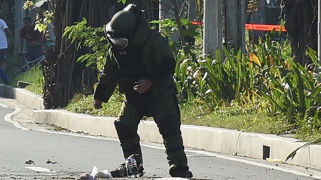Bom bij Amerikaanse ambassade Filipijnen onschadelijk gemaakt