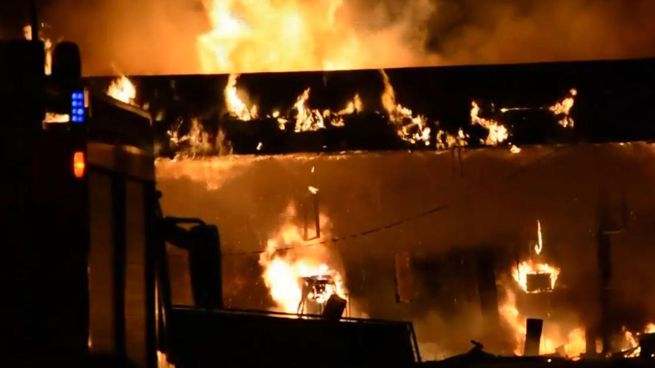 Tankstation bij Gouda volledig uitgebrand
