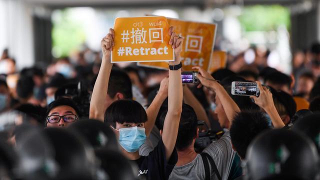 Hongkong stelt behandeling van omstreden uitleveringswet opnieuw uit