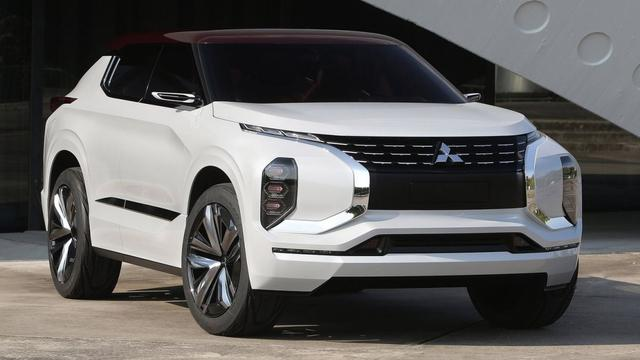 Mitsubishi GT-PHEV Concept in detail