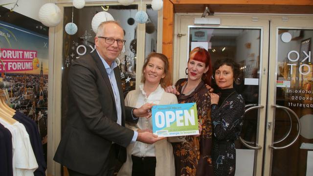 Drie winkeliers Oosterstraat houden deuren dicht voor energiebesparing