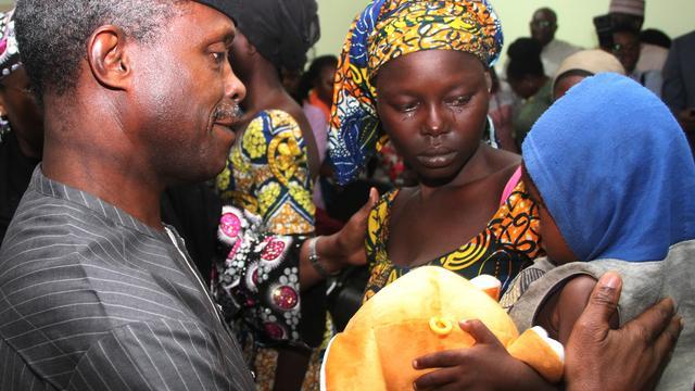 'Ruim honderd ontvoerde meisjes Boko Haram willen niet terug'