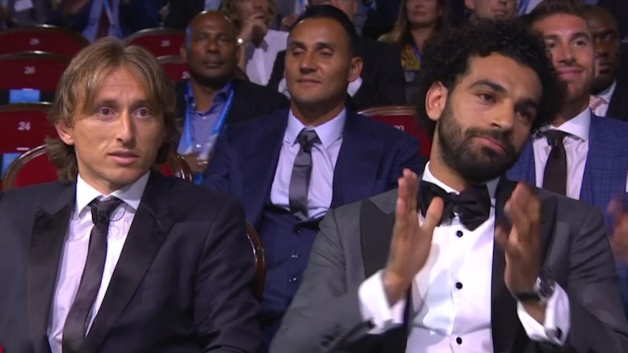 UEFA roept Luka Modric uit tot beste speler van het jaar