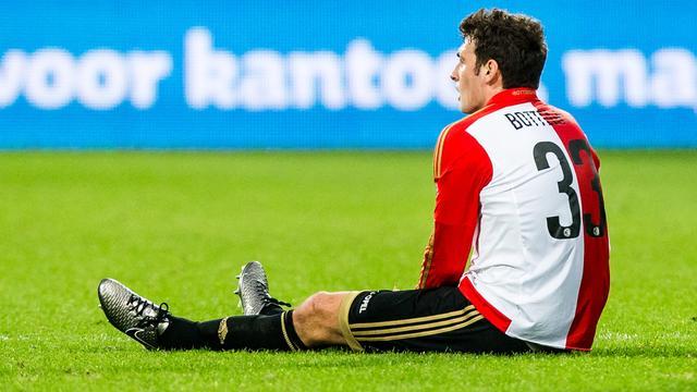 Feyenoord mist Botteghin in topper tegen PSV