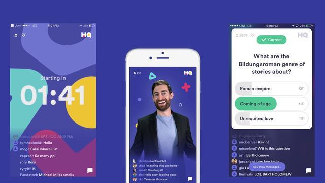 Quizapp HQ Trivia laat gebruikers Rad van Fortuin spelen