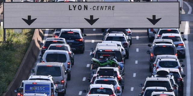 1.090 kilometer file in Frankrijk, zes uur vertraging op Route du Soleil