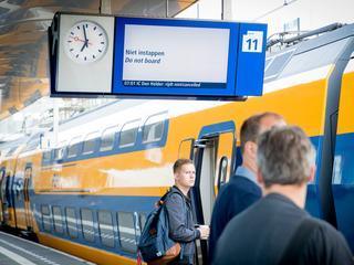 De punctualiteit nam af, maar reizigers waren toch tevredener over de NS