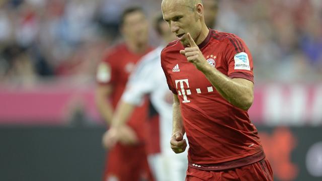 Bayern-trainer Guardiola verwacht spoedige rentree van Robben