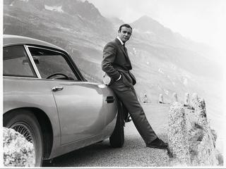 Aston Martin is bekend van auto's uit James Bondfilms
