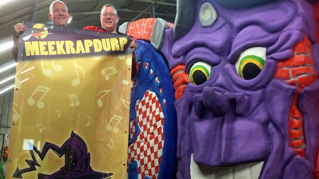 Meekrapdurp maakt zich op voor carnavalszondag