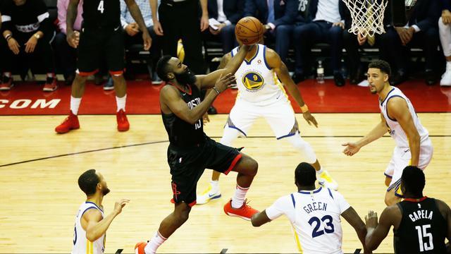 Rockets trekken stand tegen Warriors gelijk in finale Western Conference