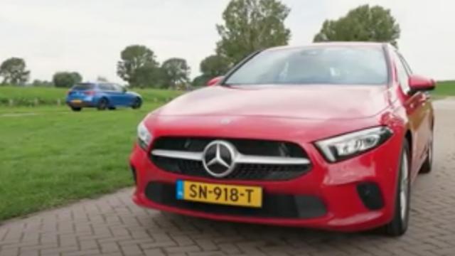 Eerste dubbeltest: Mercedes-Benz A-Klasse tegen de BMW 1 Serie
