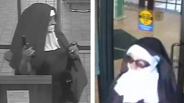Twee vrouwen verkleed als non proberen bank in Pennsylvania te overvallen