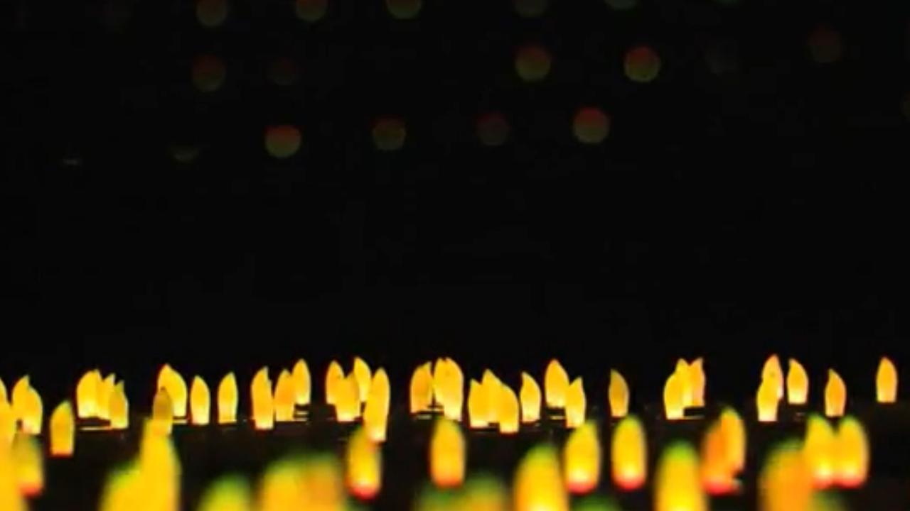 Tienduizend kaarsjes in de ArenA op Wereld Aids Dag