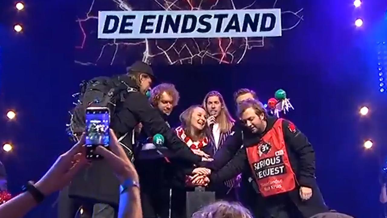 3FM maakt eindbedrag Serious Request bekend in Utrecht