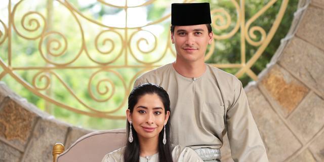 Maleisische prinses en Nederlandse man ouders geworden van eerste kind