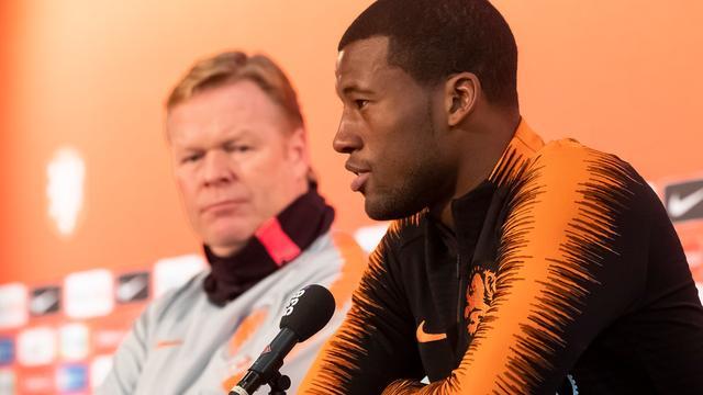 Wijnaldum captain Oranje tegen Estland, mogelijk debuut Stengs en Boadu