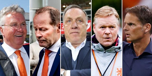 Hoe de KNVB na vijf bondscoaches in zeven jaar weer bij Van Gaal uitkwam