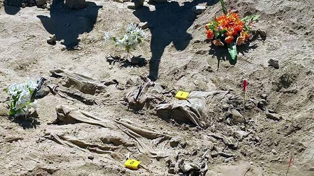 IS laat ruim tweehonderd massagraven achter in Irak