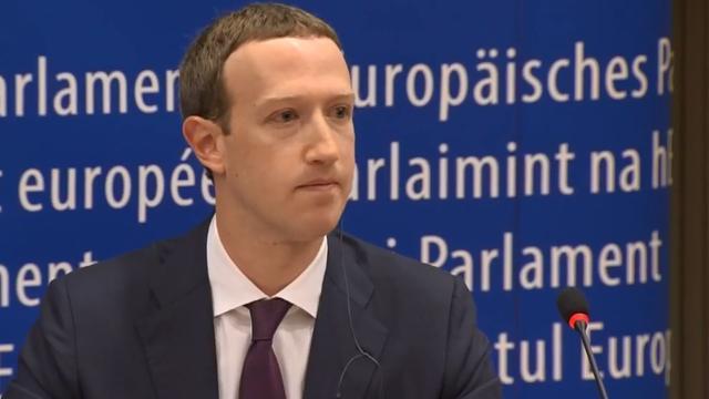 Zuckerberg geeft in Brussel geen antwoord op meest dringende vragen