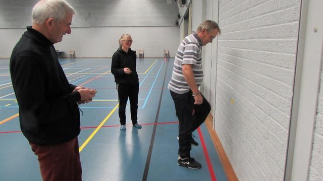 Ruim honderd Kapelse senioren doen fitheidstest