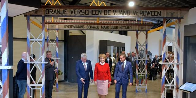 Prinses Margriet opent nieuw Bevrijdingsmuseum Zeeland in Nieuwdorp