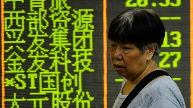 Slechtste maand in zes jaar voor Chinese beurs