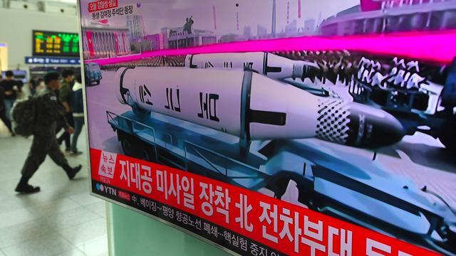 Rakettest van Noord-Korea mislukt